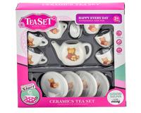 Керамический набор чайной посуды Tea Set, 11 предметов