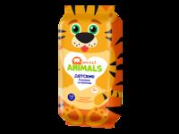 Влажные детские салфетки Smart animals с ромашкой и витамином Е, 50шт