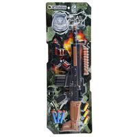 Набор оружия с резиновыми и поролоновыми пулями