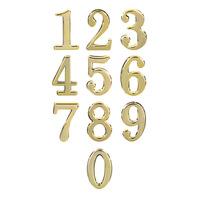 Номер дверной, цвет золото