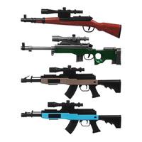 Мини-оружие с пулями гидрогель