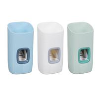 Дозатор настенный для зубной пасты с держателем для щеток