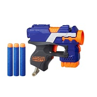 Пистолет-бластер X-hero с мягкими патронами