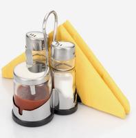 Набор для специй с салфетницей, 3 предмета