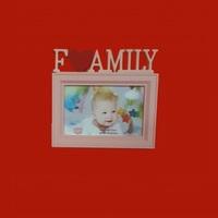 Фоторамка FAMILY, 1 фотография