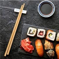 Бамбуковые палочки для суши, роллов, 100 пар, 21см