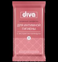 DIVA intimate для интимной гигиены с экстрактом календулы 20