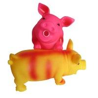 """Игрушка для собак """"Свинка Пищалка"""", резиновая"""