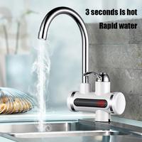 Проточный водонагреватель с дисплеем INSTANT ELECTRIC HEATING WATER FAUCET