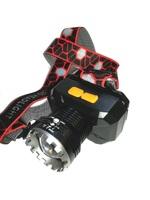 Фонарь налобный USB HT-893-P70 Zoom