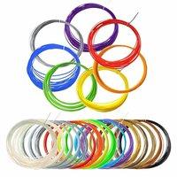 Набор цветного PLA-пластика для 3D-ручек 10м, 9 цветов