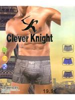 "Трусы-боксеры мужские ""Clever Knight"", 2 шт, арт.9085"