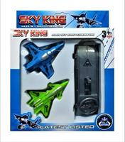 Набор самолетов с пусковым механизмом Sky King, 2 шт