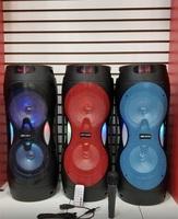 Портативная колонка с микрофоном JBK-6507S