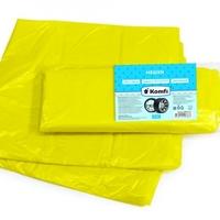 Пакеты для автошин полиэтиленовые, 4 шт, желтые