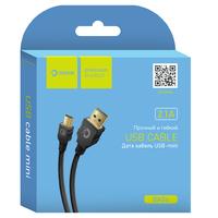 Кабель Dream BK06 Mini USB, 2.1А