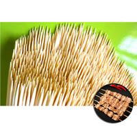 Шпажки-шампуры бамбуковые 200 мм, 80 шт
