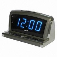 Часы настольные VST 718-5 синие цифры