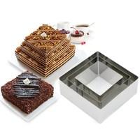 """Набор металлических форм для выпечки """"Квадрат"""", 3 шт"""