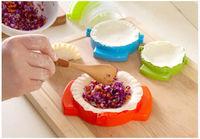 Формы для лепки пельмений, пирожков, вареников, 3шт, цветные