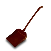 Совок пластиковый с длинной ручкой